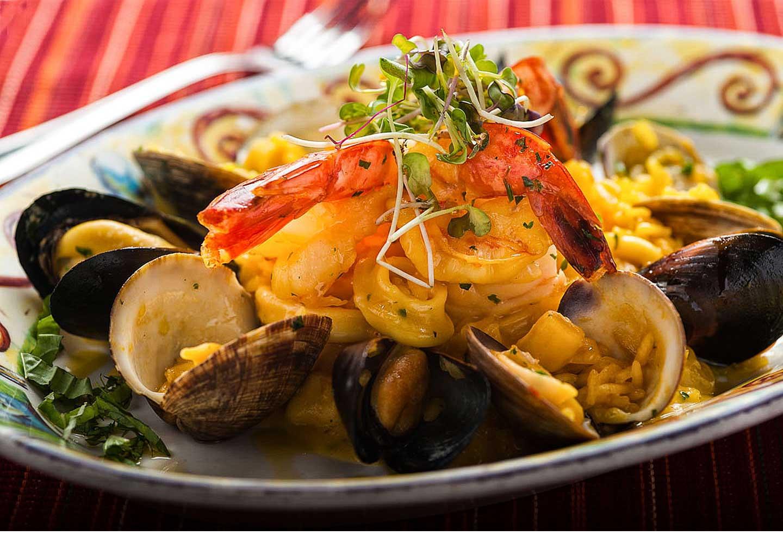 Prima Pasta Seafood Plate