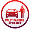 Valet Parling available