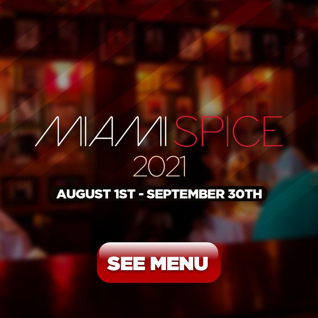 Miami Spice 2021 - See Menu